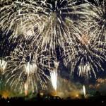 釧路花火大会の写真
